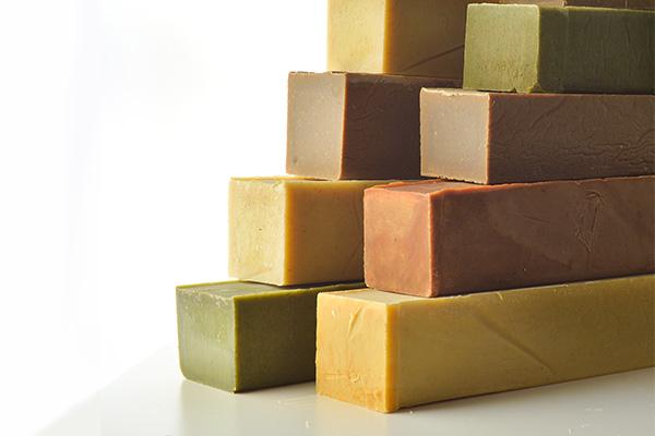 Cure des pains de savon