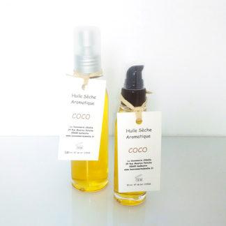 Huile sèche aromatique coco