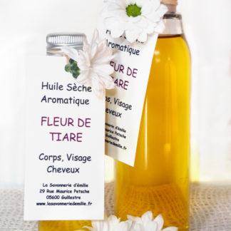 Huile sèche aromatique fleur de tiaré
