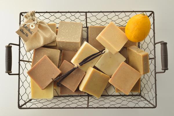 Panière ingrédients et savons