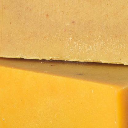 Savon mandarine citron close-up