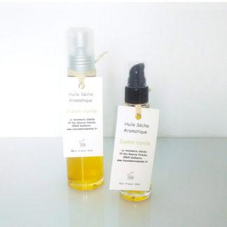 Huile sèche aromatique jasmin et vanille