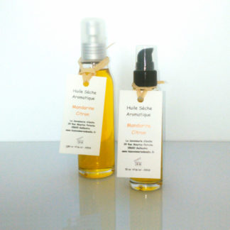 Huile sèche aromatique mandarine citron