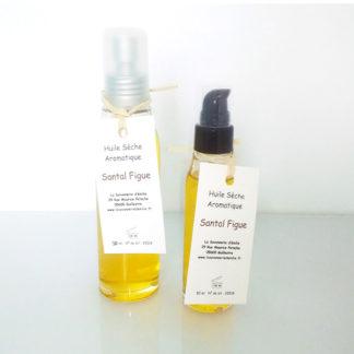 Huile sèche aromatique santal et figue